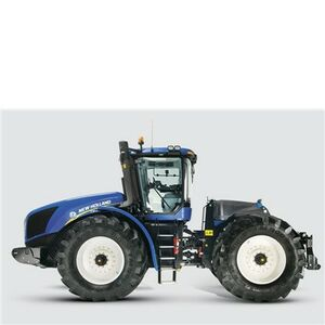 Giocattolo Die Cast trattore New Holland T9000 (1983) Siku