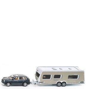Giocattolo Die Cast auto con caravan (2542) Siku 0
