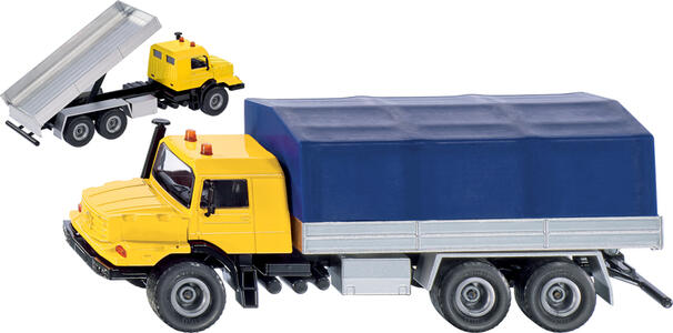 Die Cast Camion MB+Cassone Ribaltabile (3547)