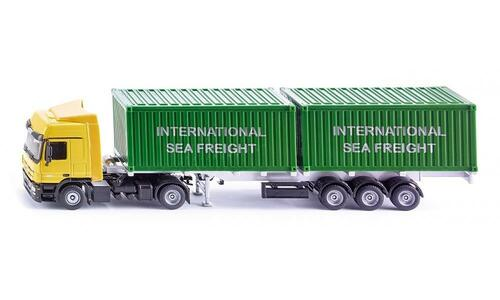 Die Cast Camion Con Container