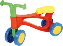 Lena My First Scooter Multicoloured Bambini Monopattino a quattro ruote Blu, Verde, Arancione, Rosso