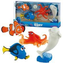 5bd73af8b81025 Alla Ricerca di Dory. Set di 4 Personaggi (Dory, Nemo, Hank, Bailey ...