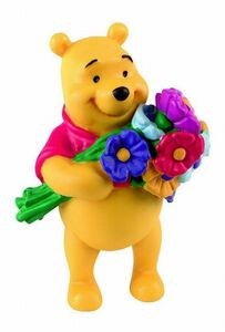 Giocattolo Disney Winnie the Pooh figures. Winnie con Fiori Bullyland
