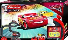 Giocattolo Carrera First. Disney Cars 3 Pista Batteria Carrera