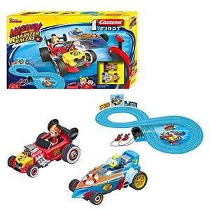 Carrera First. Mickey Roadstar Racers Pista Batteria - 3