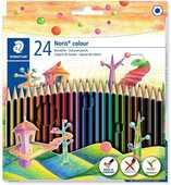 Cartoleria Pastelli Staedtler Noris Colour. Confezione 24 matite colorate Staedtler