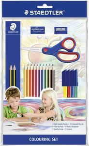 Colouring Set Staedlter. Con forbici