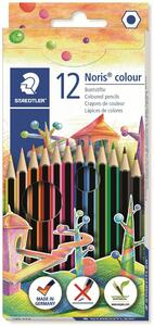 Pastelli Staedtler Noris colour. Confezione 12 matite colorate assortite - 7