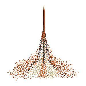 Pastelli Staedtler Noris colour. Confezione 12 matite colorate assortite - 34