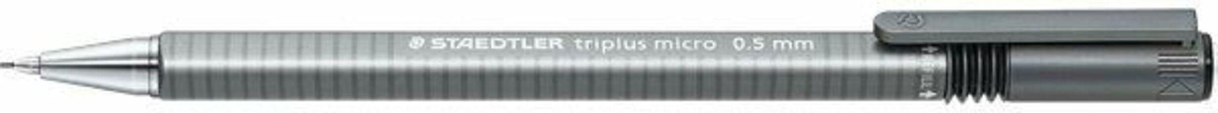 Cartoleria Matita portamine Staedtler Triplus Micro grigio punta 0,5 mm Staedtler