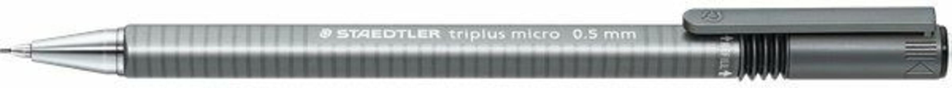 Matita portamine Staedtler Triplus Micro grigio punta 0,5 mm