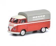 Schuco VW T1b Preassemblato Modellino di veicolo per soccorso stradale 1:87