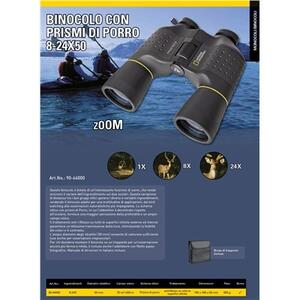 Binocolo Con Prismi Di Porro 8-24X50 National Geographic - 4