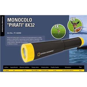 Giocattolo Monocolo Pirati 8x32 NatGeo Bresser 1