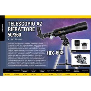 Giocattolo Telescopio 50/360 NatGeo Bresser 1