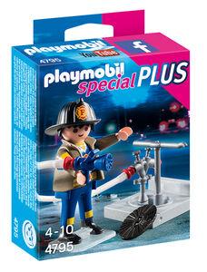 Giocattolo Playmobil Special Plus. Vigile del Fuoco con Idrante (4795) Playmobil 0