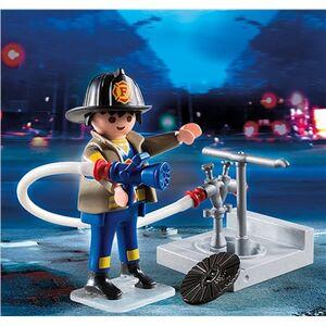 Giocattolo Playmobil Special Plus. Vigile del Fuoco con Idrante (4795) Playmobil 1