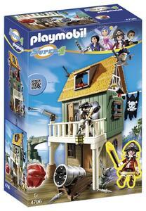 Playmobil Super 4. Forte dei Pirati Mimetico (4796) - 5