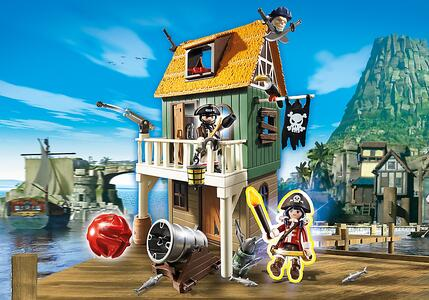 Playmobil Super 4. Forte dei Pirati Mimetico (4796) - 9
