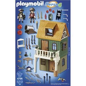 Playmobil Super 4. Forte dei Pirati Mimetico (4796) - 10