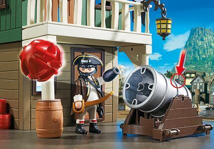 Playmobil Super 4. Forte dei Pirati Mimetico (4796) - 11