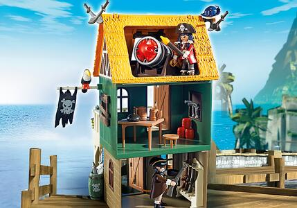 Playmobil Super 4. Forte dei Pirati Mimetico (4796) - 12