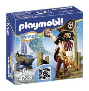 Giocattolo Playmobil Super 4. Barba Squalo (4798) Playmobil 0