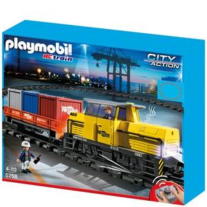 Giocattolo Trenino merci RC Playmobil (5258) Playmobil 0