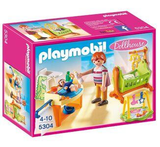 Giocattolo Playmobil Dollhouse. Cameretta con fasciatoio (5304) Playmobil 0