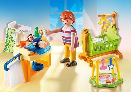 Giocattolo Playmobil Dollhouse. Cameretta con fasciatoio (5304) Playmobil 1