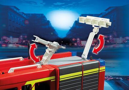 Autopompa dei vigili del fuoco con luci e suoni Playmobil (5363) - 14