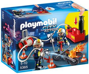 Playmobil Vigili del fuoco in azione (5365)