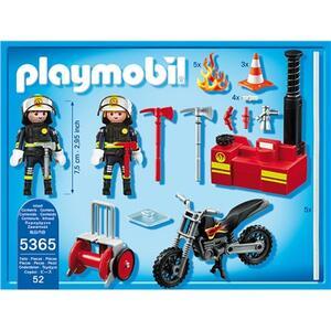 Playmobil Vigili del fuoco in azione (5365) - 4