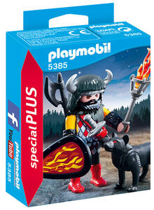 Playmobil Guerriero Del Lupo - 2