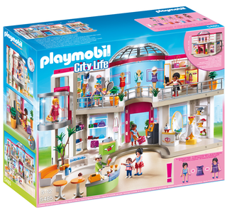 Giocattolo Playmobil City Life. Centro commerciale arredato (5485) Playmobil 0