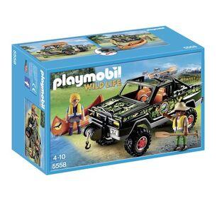 Giocattolo Playmobil Wild Life. Pickup-avventura con canoa (5558) Playmobil 0