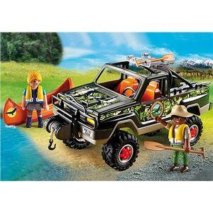 Giocattolo Playmobil Wild Life. Pickup-avventura con canoa (5558) Playmobil 1