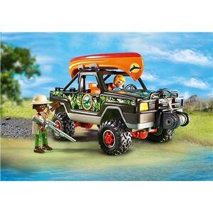 Giocattolo Playmobil Wild Life. Pickup-avventura con canoa (5558) Playmobil 3