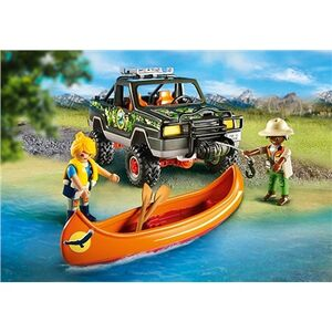 Giocattolo Playmobil Wild Life. Pickup-avventura con canoa (5558) Playmobil 4