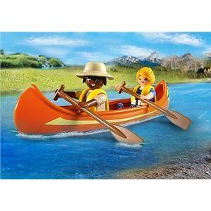 Giocattolo Playmobil Wild Life. Pickup-avventura con canoa (5558) Playmobil 5