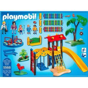 Playmobil. City Life Asilo. Area Giochi Esterna per Bambini (5568) - 8