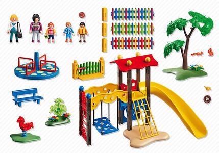 Playmobil. City Life Asilo. Area Giochi Esterna per Bambini (5568) - 9