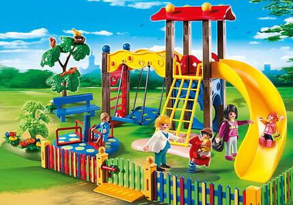Playmobil. City Life Asilo. Area Giochi Esterna per Bambini (5568) - 10