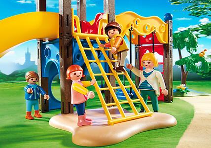 Playmobil. City Life Asilo. Area Giochi Esterna per Bambini (5568) - 11