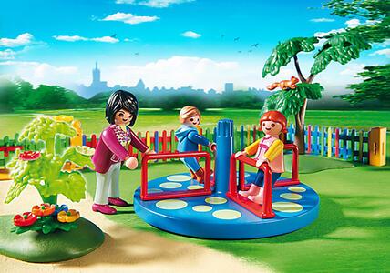 Playmobil. City Life Asilo. Area Giochi Esterna per Bambini (5568) - 12