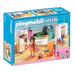 Giocattolo Playmobil. City Life Villa Lussuosa.Cabina Armadio (5576) Playmobil