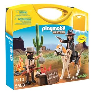 Giocattolo Playmobil valigetta. Western (5608) Playmobil 0