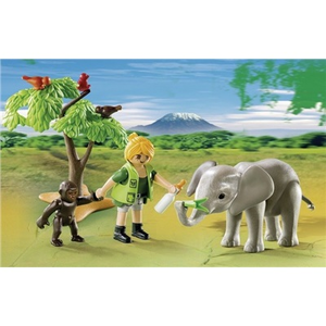 Giocattolo Playmobil Valigetta Wild Life (5628) Playmobil 1