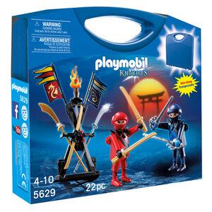 Giocattolo Playmobil Valigetta Cavalieri Ninja (5629) Playmobil 0