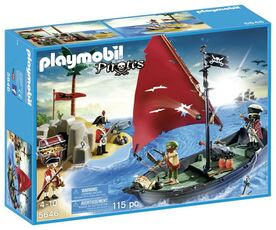 Giocattolo Playmobil Pirati. Pirate Club Set (Limited Edition) (5646) Playmobil